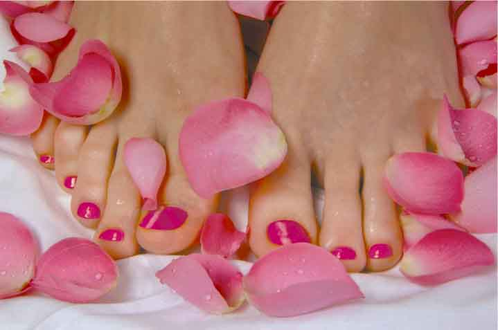 paintedtoenails 5 minutes Pedicure
